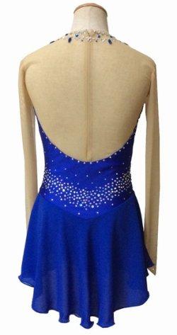 画像2: ジョーゼットのドレス(ブルー)